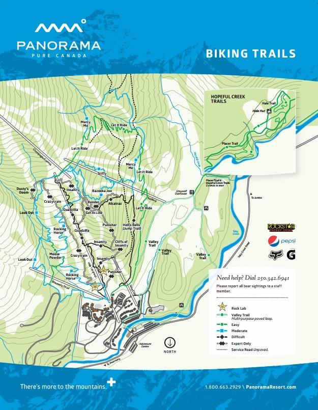 Lift Access Mountain Bike Parks In British Columbia British