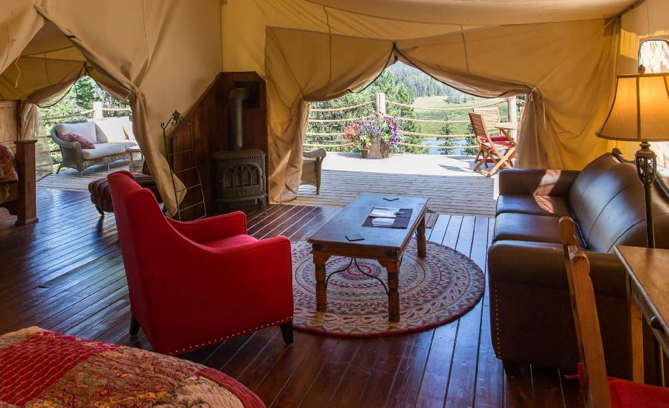 Camping Beds For Tents >> Where to go Glamping in British Columbia - British ...